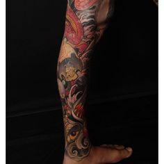 Tattoo by Jeff Gogue