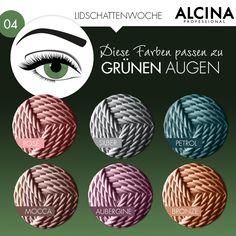 Lidschatten für grüne Augen? Hier siehst du, mit welchen Farben deine grünen Augen strahlen!
