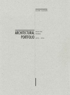 Oliver Kažimír Architectural Portfolio 2016 by Oliver Kažimír - issuu