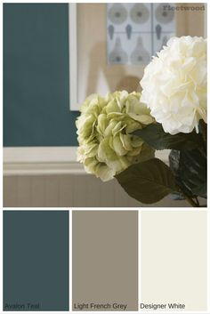 Colours available from the Fleetwood Paint's Popular Colours range.