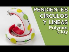 Dots and lines earrings - Polymer clay tutorial [Sub] Clay Tutorials, Design Tutorials, Video Tutorials, Polymer Clay Crafts, Polymer Clay Earrings, Clay Videos, Cold Porcelain, Color Mixing, Dots
