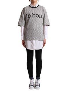 le bon joule T(그레이) http://www.le-bon.co.kr