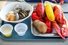 Traditional Clam Bakes on Cabbage Island Maine #maine #clambake