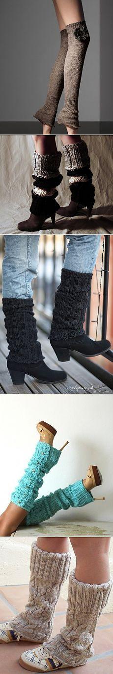 Чтобы ножки не мерзли (подборка гетров) / Носки, колготки, леггинсы / Модный сайт о стильной переделке одежды и интерьера