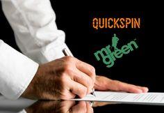 Quickspin будет поставлять игорный контент онлайн-оператору Mr Green.  Ведущий шведский поставщик слотов, компания Quickspin, заключил сделку о поставке контента с онлайн-оператором Mr Green.