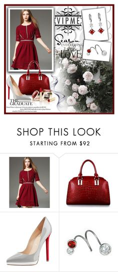 """""""VIPME I/5"""" by tanja133 ❤ liked on Polyvore featuring Christian Louboutin, Dolce&Gabbana, women's clothing, women, female, woman, misses, juniors and vipme"""