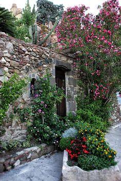 Grimaud Village, France