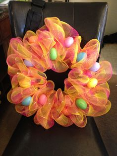 Easter Wreath idea :)