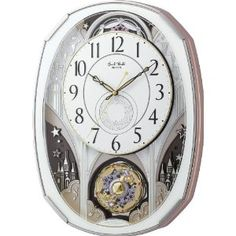 Discount Watch Store - Smoll World スモールワールドノエルM 電波からくり時計 白 4MN513RH03 | 最新の時間センター