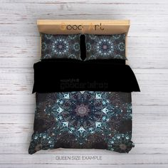 68 X 88 KESS InHouse KESS Original Celtic Knot Green Forest Mint Twin Comforter