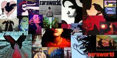 Zaraworld akryylimaalauksia