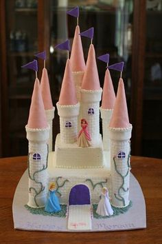 princess cake - #tutorial I remember someone making this for a birthday party in elementary school almost 50 years ago, and I still remember it as being Grand!!!!!