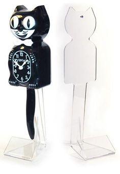 The Office Kit-Cat (Desktop Stand) Cat Position, Office Kit, Talking Alarm Clock, Dog Kennels For Sale, Novelty Clocks, Moving Eyes, Classic Clocks, Cat Clock, Cool Dog Houses