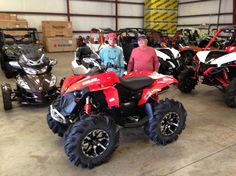 Thanks to Logan Smith and Robert Bryars from Millry AL for getting a 2016 Can-Am Renegade 850 at Hattiesburg Cycles