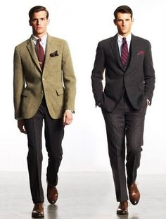 The Neo Sack Suit Two Suits From Polo Ralph Lauren Kelsey Searles Dress Codes Business Formal