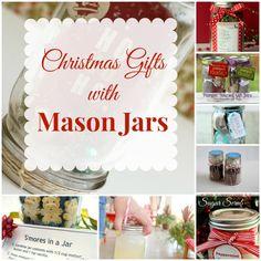 Christmas Gifts with Mason Jars