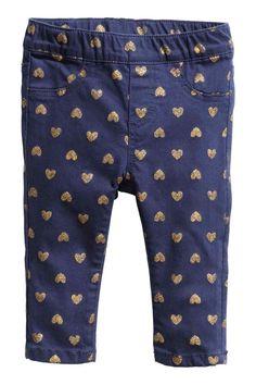 High Waist Leggings Pantalon taille haute étoiles Jeans Optique Print Jeggings Treggings