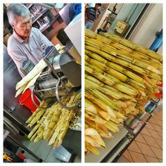 Always make sure it's pressed upon order and not just sitting there premade. Some sugar cane juice stands mix it with sugared water. Fresh Sugar, Singapore, Juice, Vegetables, Water, Food, Gripe Water, Essen, Juices