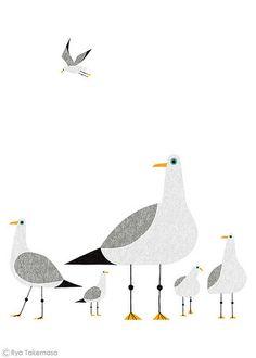 Seagulls | da Ryo Takemasa