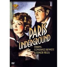 Shop Paris Underground [DVD] at Best Buy. Find low everyday prices and buy online for delivery or in-store pick-up. Hollywood Cinema, Hollywood Star, Golden Age Of Hollywood, Dolby Digital, Two Movies, Classic Movies, Gracie Fields, Underground Film, Soundtrack