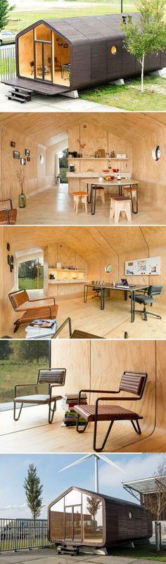 WikkleHouse : une habitation modulaire faite à partir de matériaux 100% recyclables #ecoattitude