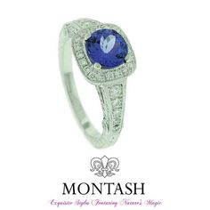 #Tanzanite is named after the East African state of Tanzania and is the only place in the world where it has been found. #montashjewellerydesign
