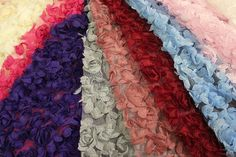 Hey, I found this really awesome Etsy listing at https://www.etsy.com/listing/120923266/rosette-fabric-3d-flower-lace-fabric-on