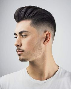 For 2018, add some texture to your pomp fade. #menshair #menshaircuts #menshairstyles #pompadour #pompadourhaircut #pompadourhairstyle #pomp #pompfade