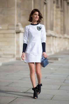 Hanneli Mustaparta in Dior   - HarpersBAZAAR.com
