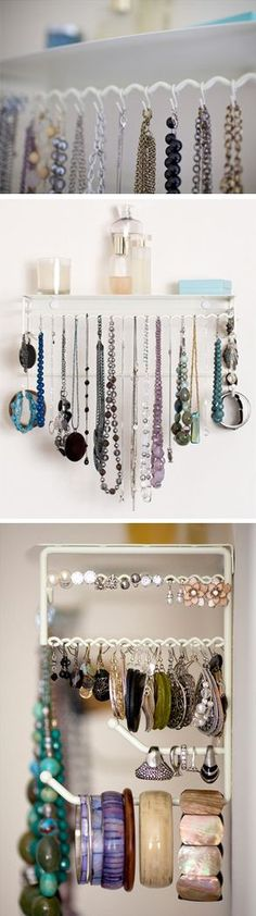 Hanging Jewelry Organizer Set //