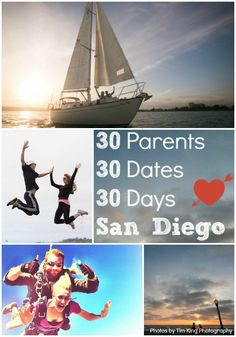 Showcasing San Diego by sending 30 parents on 30 dates in 30 days. Want to participate? Details here - lajollamom.com/30dates #30datesin30days