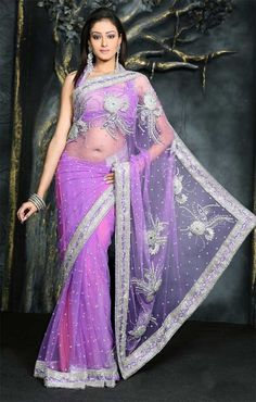 Gorgeous! I love saris! Wish I had the belly for this one.
