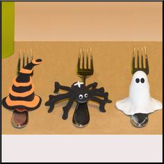 """Bastelidee: Halloween Tischdeko modellieren kostenlose bebilderte Bastelanleitung im Bastelmagazin """"Alles rund ums Basteln"""""""