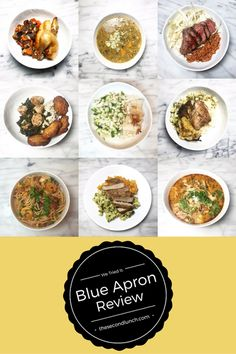 We tried Blue Apron, and wrote up a comprehensive (non-sponsored) review.