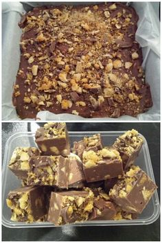 EmailTweet 1 Full-screen Crunchie Fudge Fudge June 14, 2015 0.0 0 Prep: 5 mins Cook: 45 mins 5 mins 45 mins 50 mins Ingredients 2x200g of milk chocolate 1 tbs of vanilla extract 4 x 50g crunchie bars 1 tin sweetened condensed milk 1 tbs of butter Directions Put all ingredients except for the crunchie …