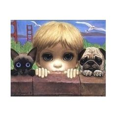 """Margaret Keane, a famous American artist, is universally known as the """"mother of big-eye art.""""    Margaret's sad-eye waif paintings created a sensation..."""