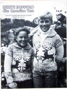Your place to buy and sell all things handmade Knitting Wool, Sweater Knitting Patterns, Vintage Knitting, Cowichan Sweater, Warm Sweaters, Sweater Making, Sweater Design, Reindeer, Needlework