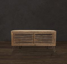 Reclaimed Wood TV Stand/ Media Console, Reclaimed Wood Furniture