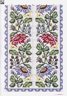 Russian Cross Stitch, Beaded Cross Stitch, Cross Stitch Borders, Cross Stitch Rose, Cross Stitch Baby, Cross Stitch Flowers, Cross Stitch Designs, Cross Stitching, Cross Stitch Patterns