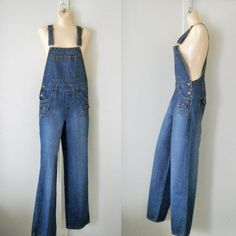 Women Overalls Denim Overalls Women Dungarees by TheVilleVintage, $42.99