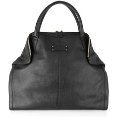 Alexander McQueen De Manta leather tote ❤ liked on Polyvore
