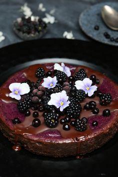 Brombeeren cheesecake