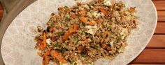 Farro Salad with Pan Roasted Carrots