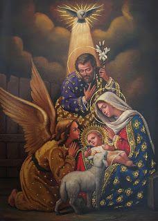 El Nacimiento del Niño Jesús en Belén.
