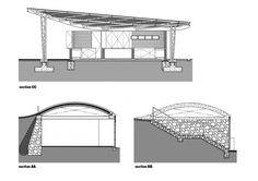 Secciones del Centro de Oportunidades para la Mujer por Sharon Davis Design. Señala encima de la imagen para verla más grande.
