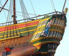 The Tall Clipper Ship Stad Amsterdam - Sailing Ship  - 08 Photograph