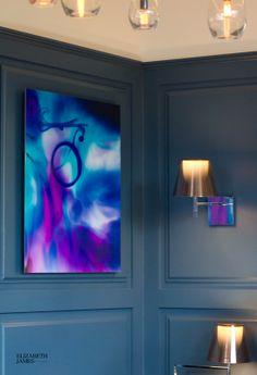 Twickenham based artist Elizabeth James exhibits 'Colours in Motion' in Gordon Ramsay's new Restaurant | Richmond Upon Thames