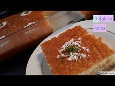 3 dakikada yapılan ve 3 dakika tatlısı olarak da bilinen sütlü damat tatlısının Türkçe yapılış videosu ile karşınızdayız. Alışılmış şerbetin dışında bu Dairy, Cheese, Food, Youtube, Desserts, Meal, Eten, Meals, Youtubers