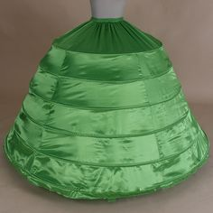 >> Click to Buy << Colorful Green 6-Hoops Ball Gown Petticoat Underskirt Crinoline Wedding Accessories Bridal Petticoats slips #Affiliate