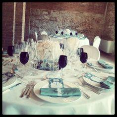 White & Tiffany wedding